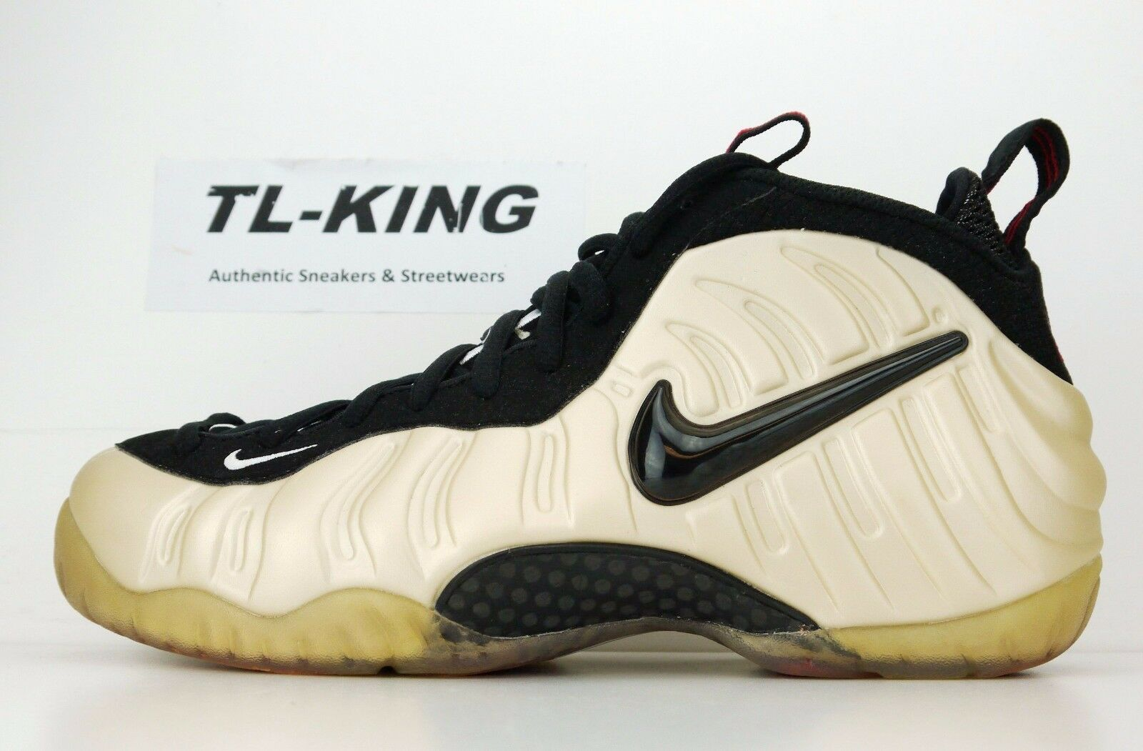 2009 Nike Air Foamposite Pro HOH House Of Hoops Exclusive Pearl 378829 201 9