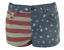 Topshop-Hotpant-American-Flag-Boho-Denim-Shorts-Holiday-Beach-Summer-W26-Size-6