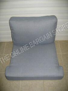 Image Is Loading Frontgate Cassara Teak Sofa Replacement Chair Cushions  SUNBRELLA