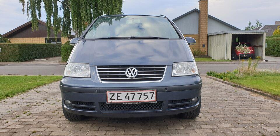 VW Sharan, 1,9 TDi 130 Highline Tiptr., Diesel