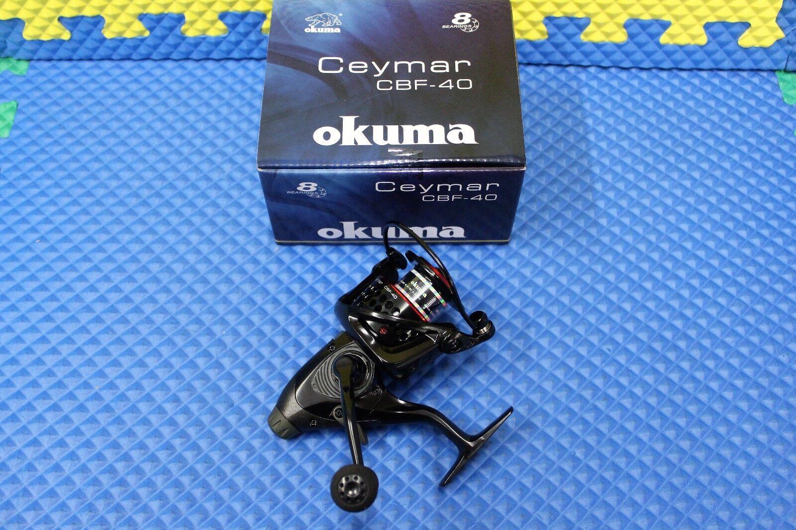 Okuma Ceymar Baitfeeder Spinning Reel 8BRG  CBF-40  promotions