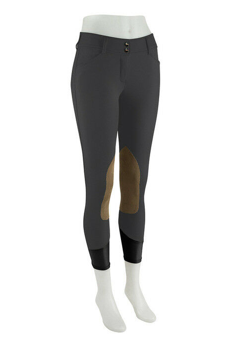New RJ Classic Gulf Low Rise Front Zip Breech - Graphite - Various Sizes