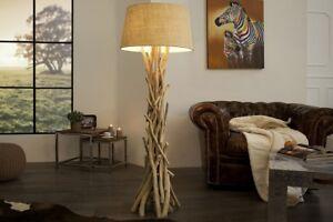 Lampara-de-pie-155cm-Moderno-Muy-Artistico-Unico-aus-madera-flotante-Pano-Salon