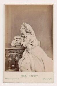 Vintage-CDV-Clara-Rousby-London-Stage-Actress-Victorian-Era