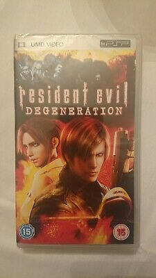Resident Evil Degeneration Umd Video Psp New Sealed Ebay