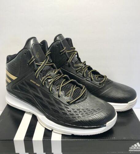 Zapatillas de baloncesto Adidas oro 11 hombre Transcend talla para entrenamiento negro 4S4On8r