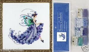 Mirabilia-Counted-Cross-Stitch-Chart-with-Embellishment-Pack-WISTERIA-199