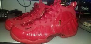 bc2fcc16a6338 Nike Air FOAMPOSITE PRO RED OCTOBER Yeezy Gym University SIZE 10.5 ...