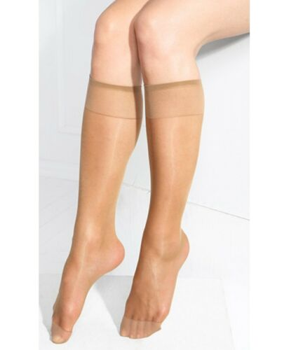 Ladies Pop Socks Knee high 15 Denier Comfort Top