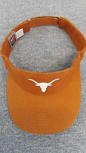 563ae6426b1b5 Image is loading Nike-Team-Texas-Longhorns-Sideline-Adjustable-Visor-Burnt-