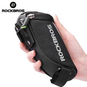 ROCKBROS-Road-MTB-Bike-Mini-Tail-Bag-Cycling-Portable-Nylon-Saddle-Rear-Pocket