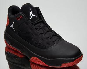 Jordan Max Aura 2 Hommes Noir Rouge Blanc Athlétique Casual Lifestyle Baskets Chaussures
