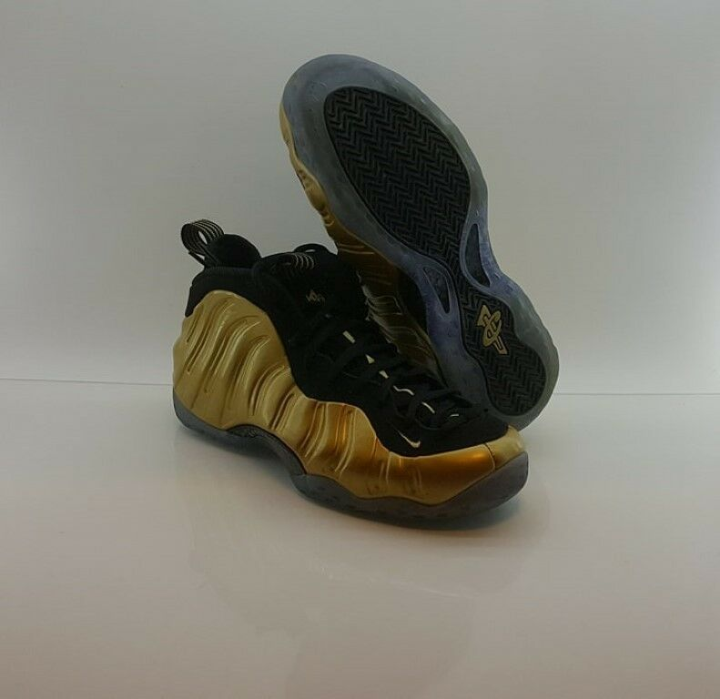 Nike Foamposite One Metallic Gold Size 10