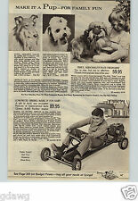 1960 PAPER AD Go Kart Berbro Mark IV Clinton A-400 Panther Engine Daisy Rifle