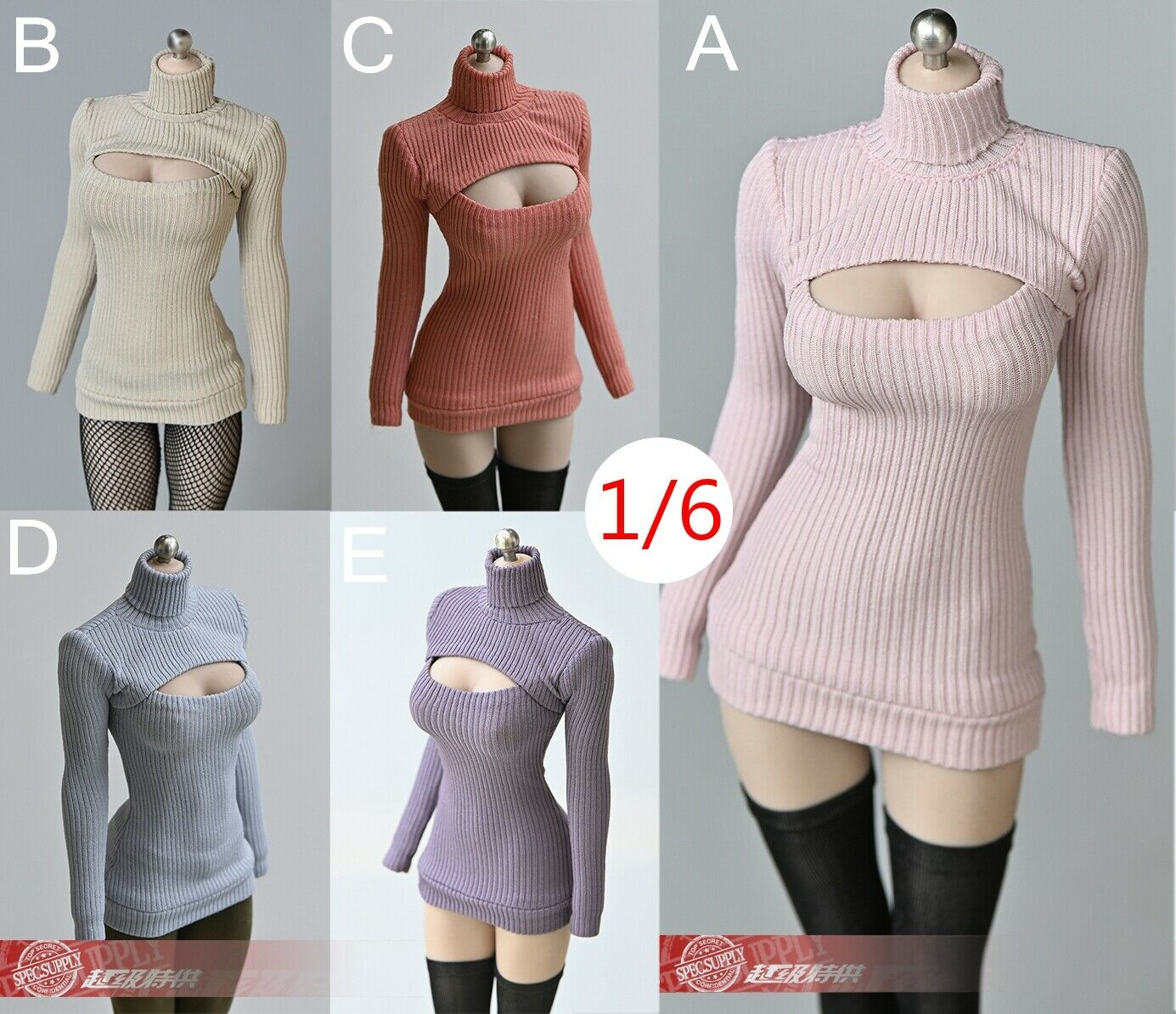 """tbleague - NEW PRODUCT: TBLeague: 1/6 scale """"Chubby"""" Female Body (2 styles, with or without a head sculpt) - Page 2 S-l1600"""