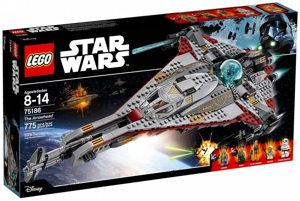 Neuf  New LEGO Estrella WARS 75186 The Arrowhead