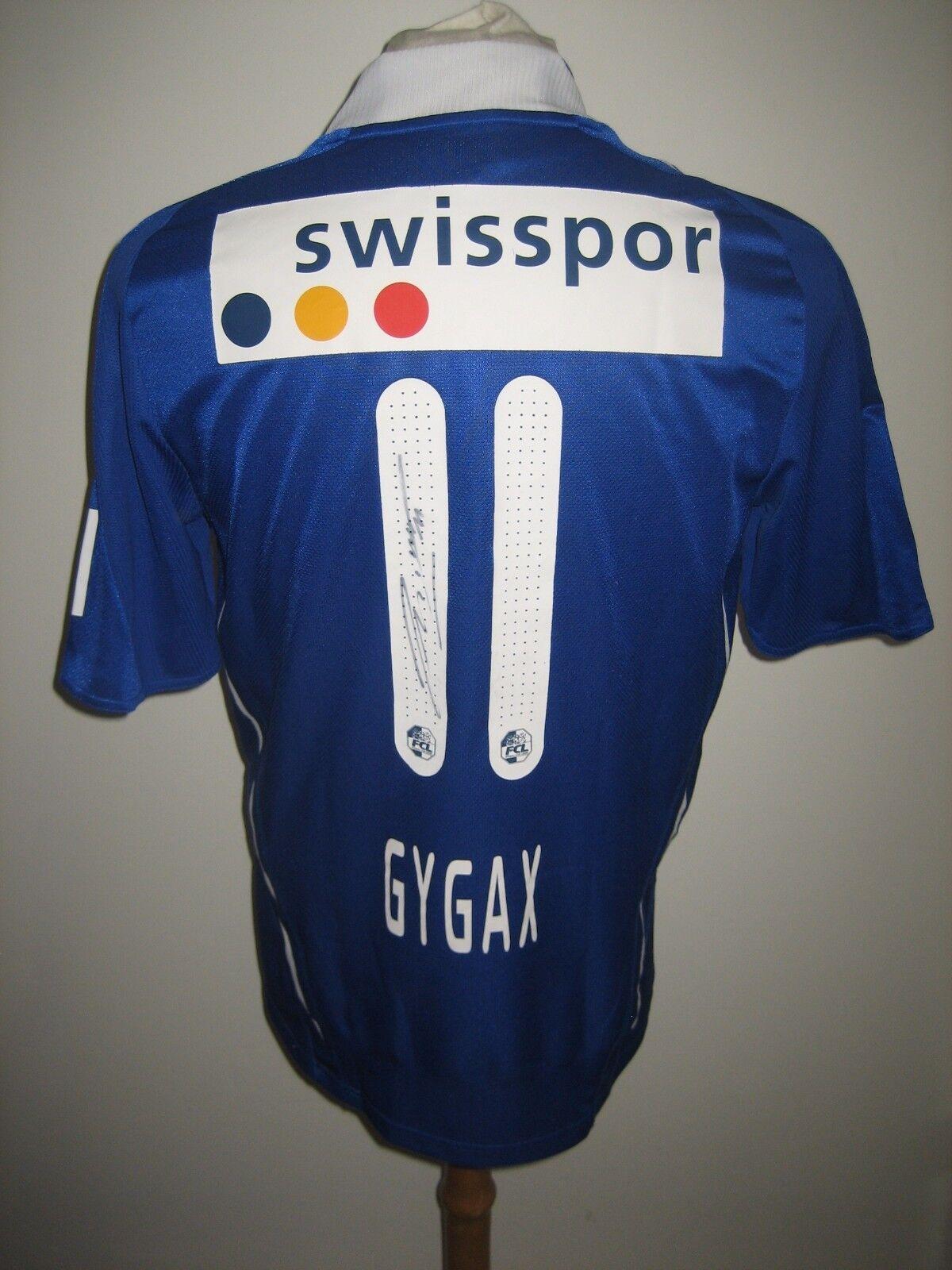 Luzern MATCH WORN home Switzerland football shirt soccer jersey trikot size M