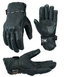 Evo Pure Leder Winter Wasserfest Thermal Motorrad Knöchelschutz Handschuhe