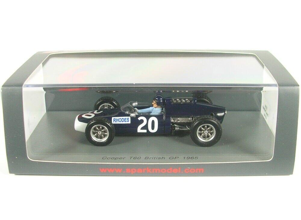 Cooper T60 N°20 Gp de Grande Bretagne Formule 1 1965 (John Rhodes)