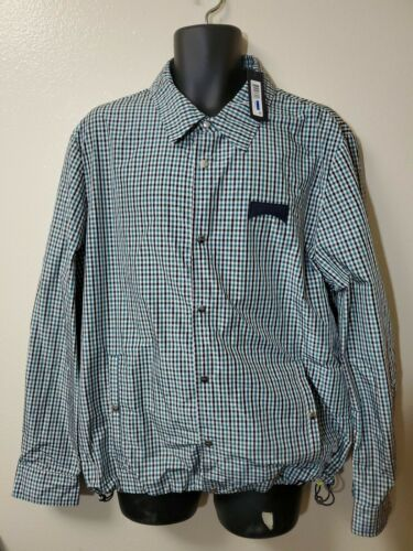 NWT - Authentic Vilebrequin Mens polyester light weigh Waterproof Jacket US XL