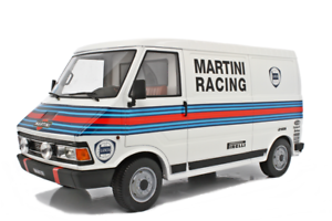 LAUDORACING-MODELS FIAT 242 ASSISTENZA LANCIA FOR KYOSHO AUTOART 1 18 LM107B2