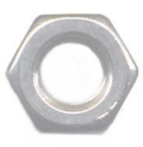 10-100 Sechskantmuttern Edelstahl A2 M 1.0-1.2-1.4-1.6