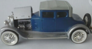 RIO-1-43-AUTO-DIE-CAST-ROLLS-ROYCE-1923-MOD-TWENTY-BLU-E-GRIGIO-ART-72