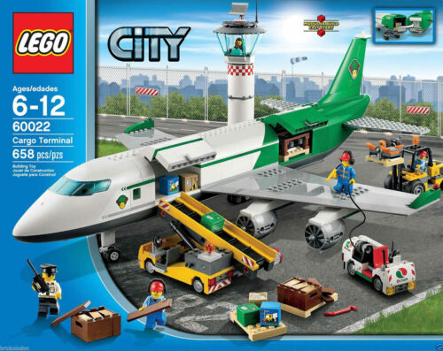 LEGO City 60022 Cargo Terminal New Sealed Set