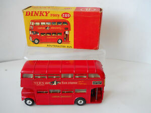 Early Dinky Routmaster Bus 289    Tern Shirts Mint   Tern Shirts Mint