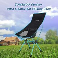 Lightweight Folding Outdoor Camping Hiking Fishing Chair Lounger Chair N2Z3