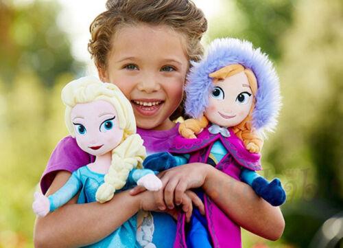 DE 2pcs Disney ToyS Frozen Anna Elsa Plush Puppe Stoffpuppe Plüsch Gift Neu