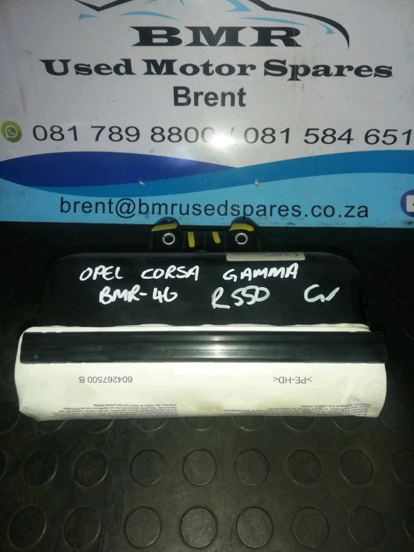 OPEL CORSA GAMMA LEFT FRONT AIRBAG FOR SALE R550