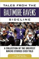nfl book TALES FROM THE BALTIMORE RAVENS SIDELINE. AMERICAN football super bowl