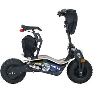 Electric Scooter With Seat >> Big Wheel Electric Scooter 1600 Watt Motor 48 Volt Battery Seat Mt