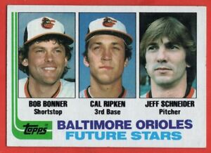 1982 Topps #21 Cal Ripken Jr. EX-EXMINT+WRINKLE HOF ROOKIE RC Baltimore Orioles