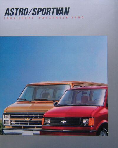 1988 Chevrolet Astro//Sportvan Sales Brochure