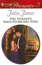 The Italian's Rags-to-Riches Wife 2716 by Julia James (2008, Paperback) GG24