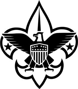 boy scout logo vinyl car window laptop decal sticker ebay rh ebay com boy scout logo clip art boy scout logo meaning