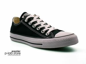 0abbff9d1993 Converse Chuck Taylor All Star Ox Low Top Black Canvas Unisex ...