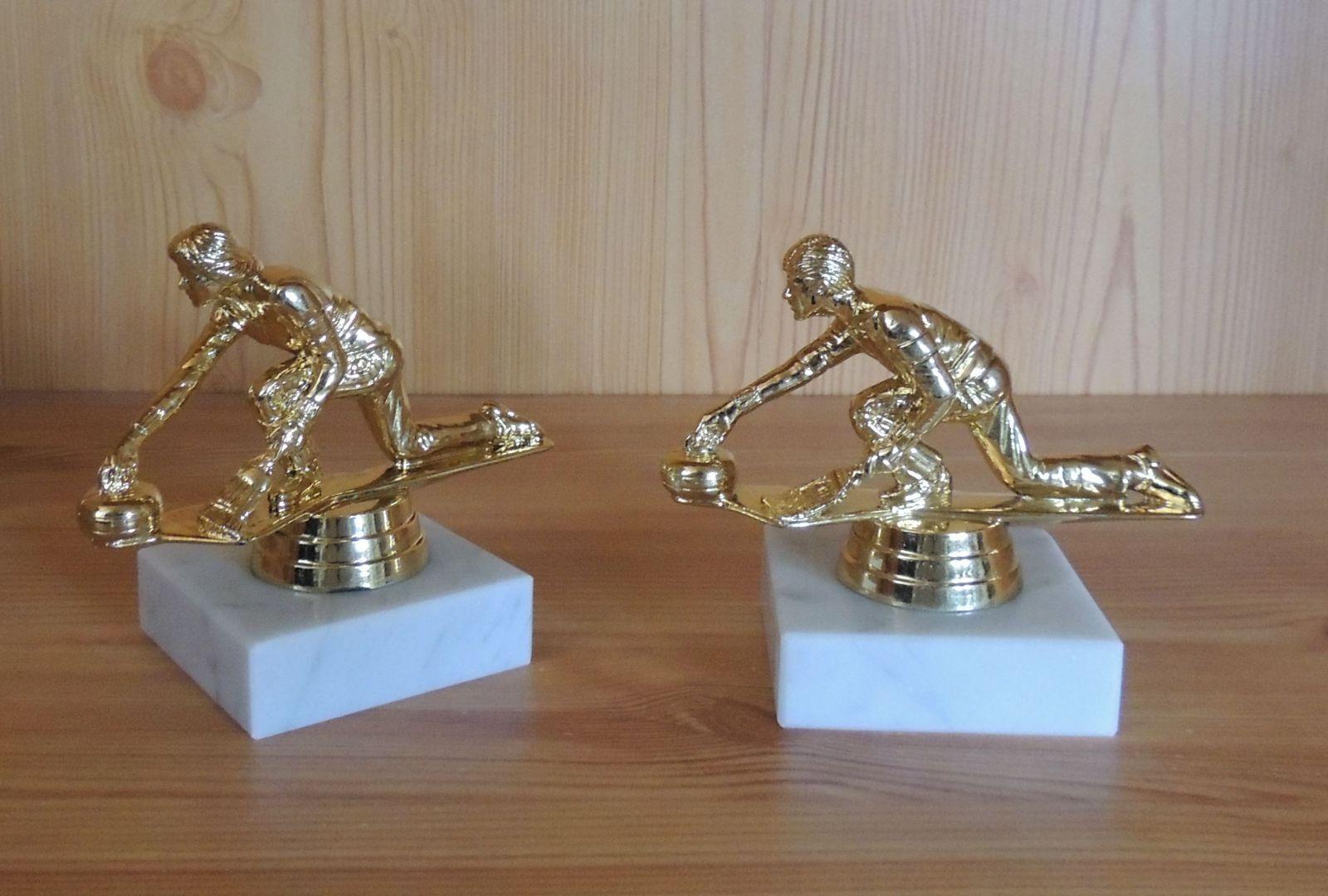 1 Eisstock trophées personnage avec gravure #2 (Sports d'hiver trophées Eisstock eisstockschießen coupe) cfdd53