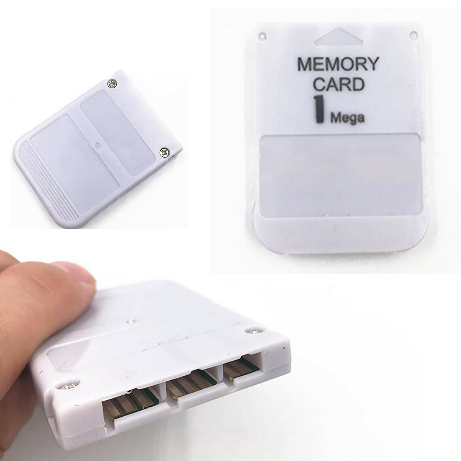 1MB Memory Card Game External Recording Card for PlayStation1 PS1 Game Machine