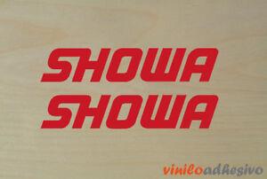 PEGATINA STICKER VINILO Showa ref2 horquilla fork autocollant aufkleber adesivi