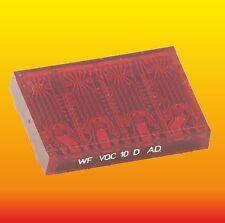 VQC10 LOT OF 1 GERMAN DDR LED DISPLAY 4 DIGITS 5x7 DOT MATRIX MODULE WF VQC10