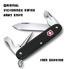 0.8201.23 Victorinox Swiss Army Pocket Knife 93mm Pioneer 54968 Range Black Alox