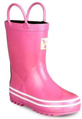 Girls UK 6-2 Boys Evercreatures Little Creatures Wellies Wellington Boots
