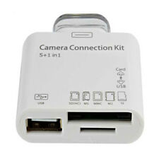 5 in 1 Camera Connection Kit USB Tf SD CARD READER PER IPAD 2 3 Connettore 30 Pin