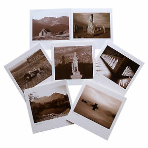 LYRICAL SCOTLAND 15 cm Greetings Cards Scenes Of Scotland Tractor Wallace Castle