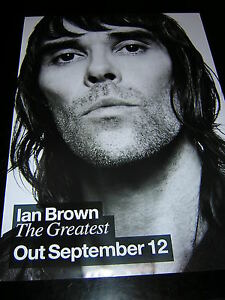 ORIGINAL-IAN-BROWN-PROMOTIONAL-POSTER-THE-GREATEST