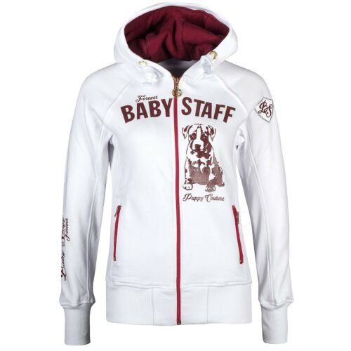 Babystaff Femmes Zip Hoody sideka Tricot Veste Hoodie Veste Sweatjacke S M L XL