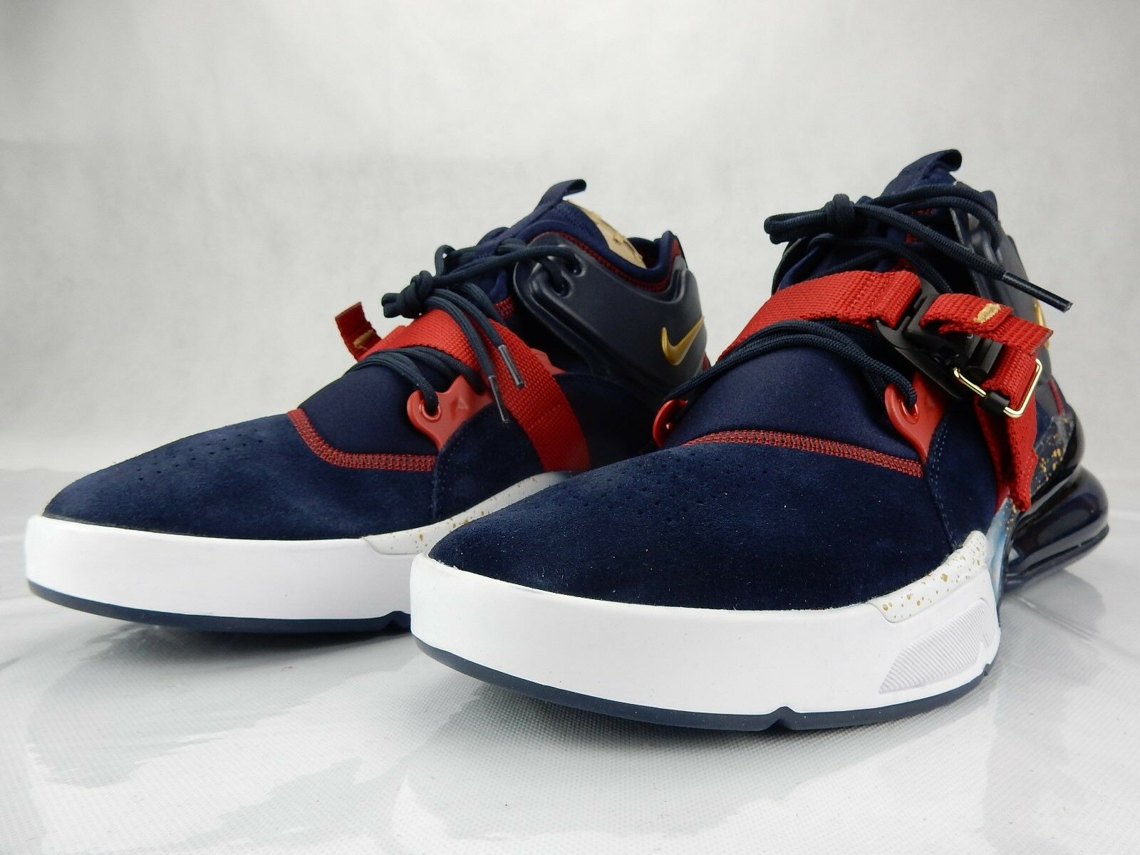 nike air force 270 olympic bleu rouge ah6772 400  nouveaux  400  chaussure taille 7,5 baskets 3f8b00
